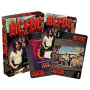 AC/DC Album Playing Cards
