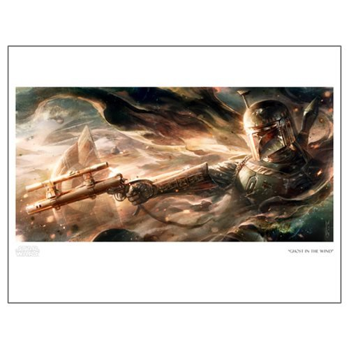 Star Wars Ghost In The Wind by Raymond Swanland Paper Giclee Art Print