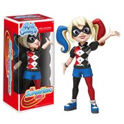 DC Super Hero Girls Harley Quinn Rock Candy Vinyl Figure