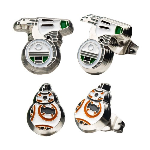 Star Wars: Rise of Skywalker D-O and BB-8 Earring Set