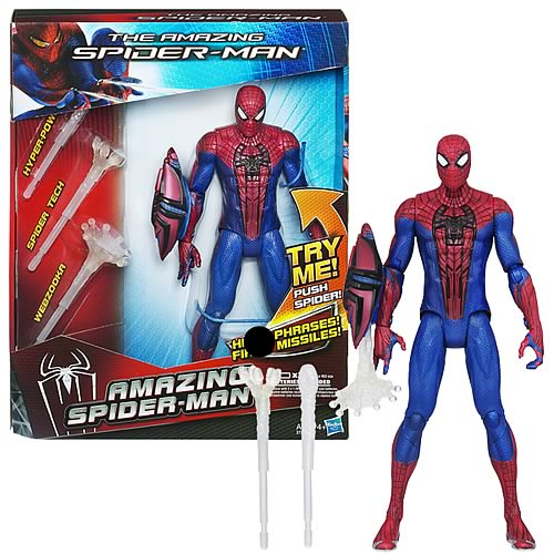 Amazing Spider-Man Electronic Action Figure