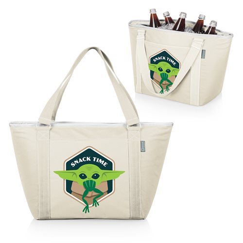 Star Wars: The Mandalorian The Child Topanga Cooler Tote Bag - Tan