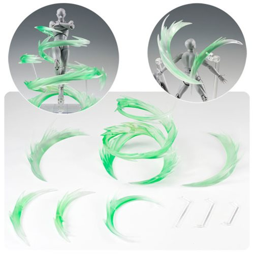 Tamashii Effect Wind Green Action Figure Accessory