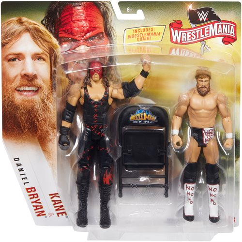 WWE WrestleMania Action Figure 2-Pack Case