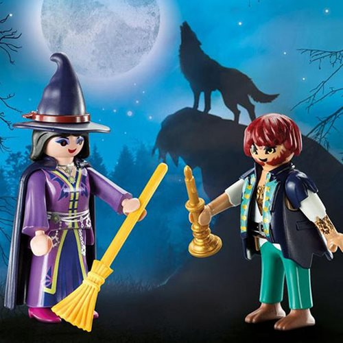 Playmobil 10558 Haunted House Action Figures Set