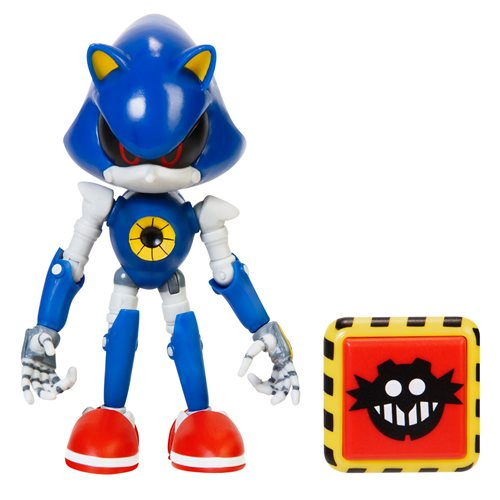 Sonic the Hedgehog 4-Inch Action Figures with Accessory Wave 4.5 Case