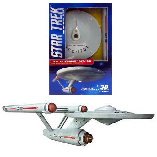 Star Trek: The Original Series U.S.S. Enterprise NCC-1701 Model Kit