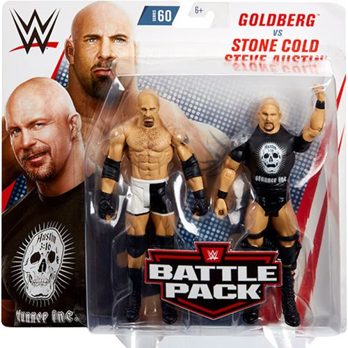 WWE Basic Series 60 Action Figure 2-Pack Case