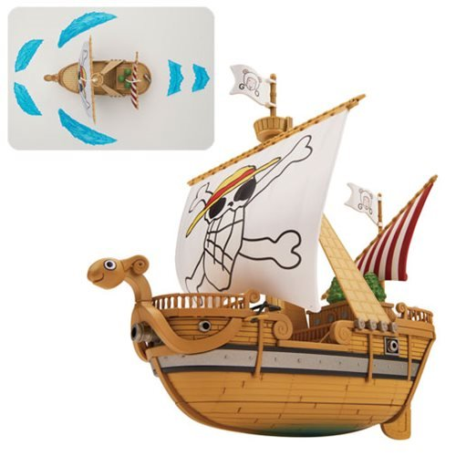 One Piece Going Merry Memorial Color Ver. Grand Ship Collection Model Kit