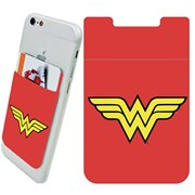 Wonder Woman Logo Phone Card Holder