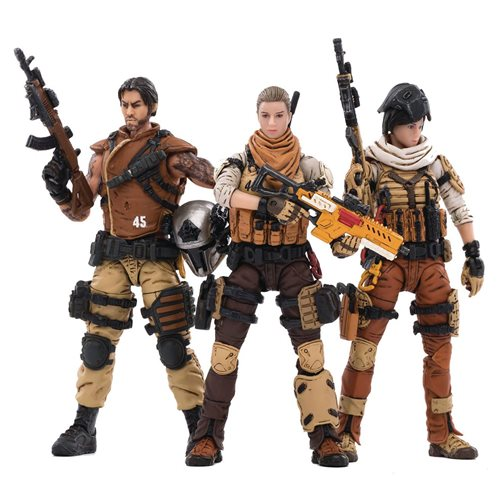 Joy Toy 45th Legion Wasteland Hunters 1:18 Scale Action Figure 3-Pack