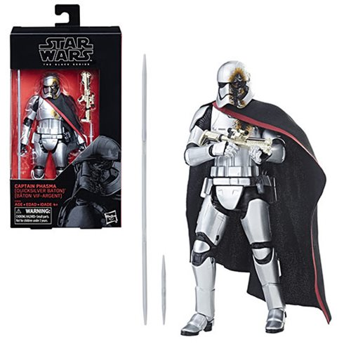 Star Wars Black Series Captain Phasma 6-inch Action Figure