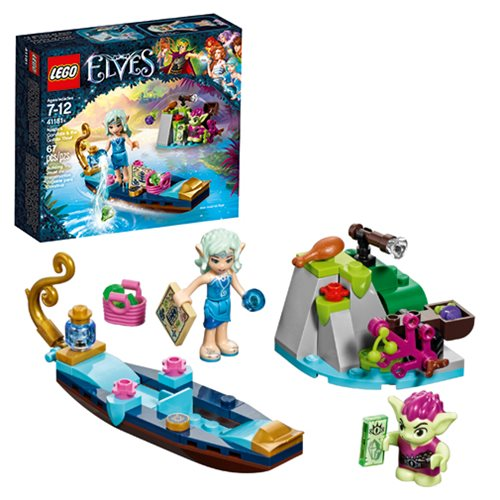 LEGO Elves 41181 Naida's Gondola and the Goblin Thief ...