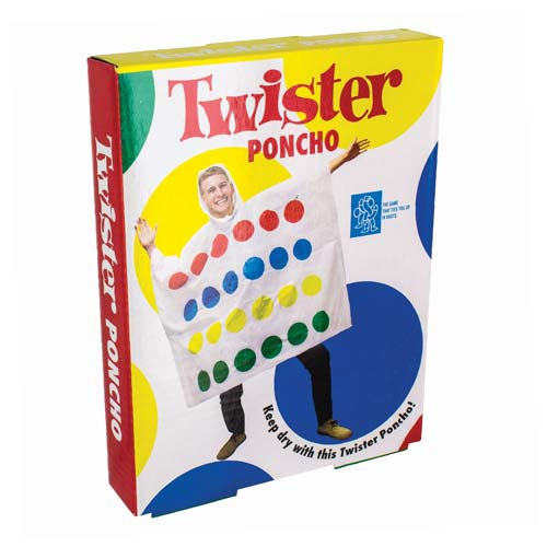 Twister Hooded Poncho