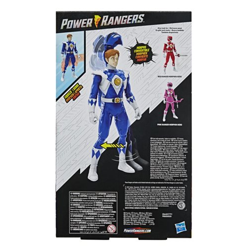 Mighty Morphin Power Rangers Blue Ranger Unmasked 12-inch Action Figure