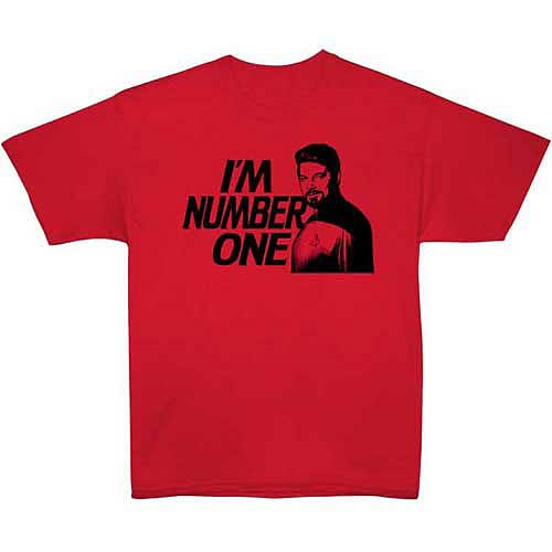 Star Trek I'm Number One Riker T-Shirt