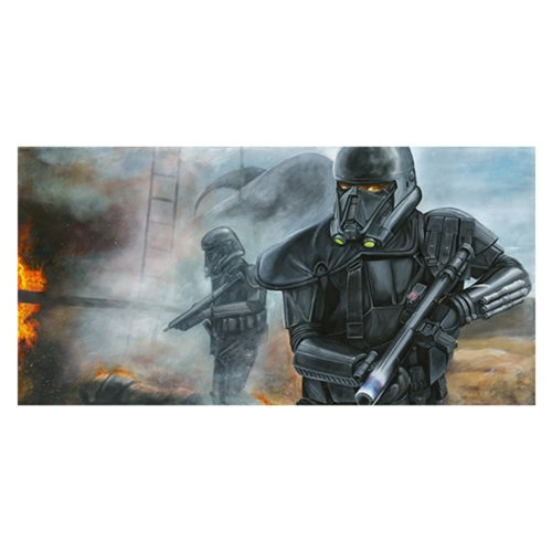 Star Wars Hostile Extraction by Greg Lipton Canvas Giclee Art Print