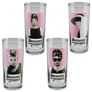 Audrey Hepburn 10 oz. Glass 4-Pack