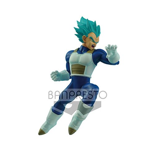 Dragon Ball Super Super Saiyan Blue Vegeta In Flight Fighting Statue
