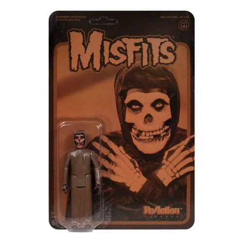 The Misfits Collection 2 Brown Fiend 3 3/4-Inch ReAction Figure