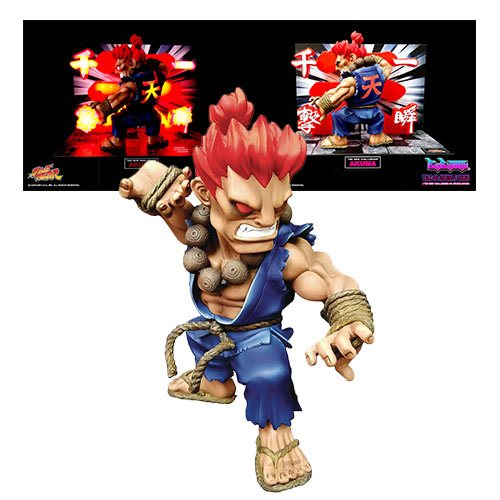 Street Fighter The New Challenger Akuma Figure with Lights and Sounds