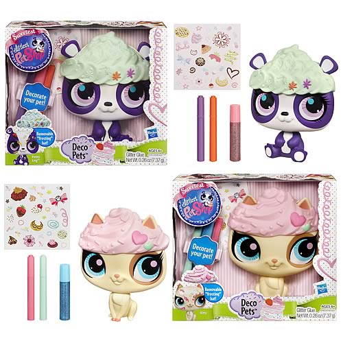 Littlest Pet Shop Deco Pets Wave 1 Set