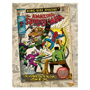 Marvel Sinister Six Comic Cover Canvas Print