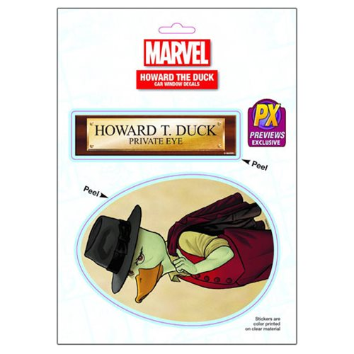 Howard the Duck Private Eye Decal - Previews Exclusive
