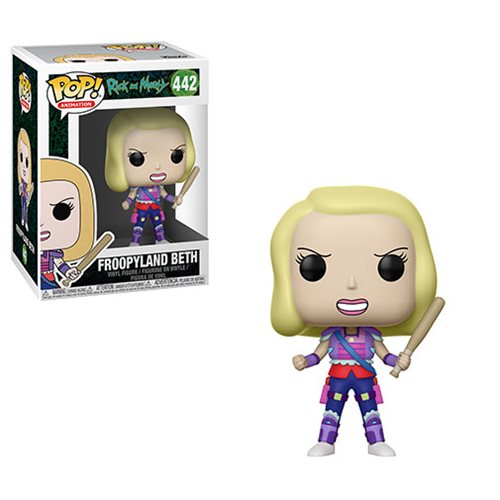 Rick and Morty Froopyland Beth Pop! Vinyl Figure #442