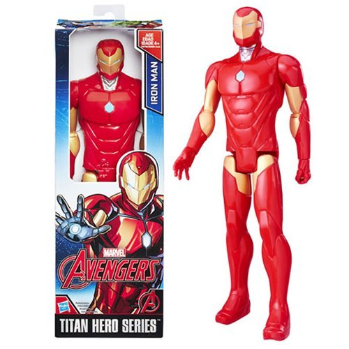 Avengers Titan Hero Iron Man Action Figure