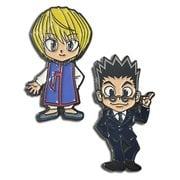 Hunter x Hunter Kurapika and Leorio Enamel Pin Set