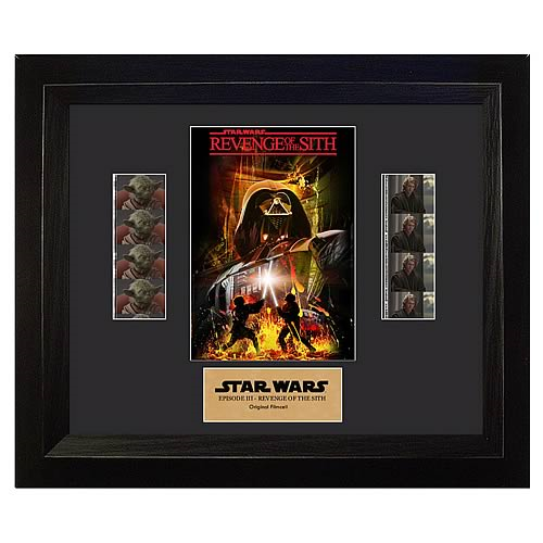 Star Wars Revenge of the Sith Double Film Cell