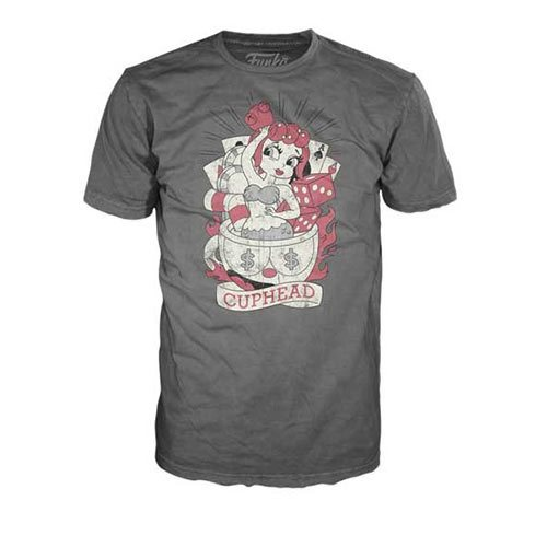 Cuphead Cups Ruin Tattoo Pop! T-Shirt