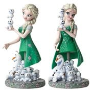 Frozen Fever Elsa and Olaf Grand Jester Mini-Bust