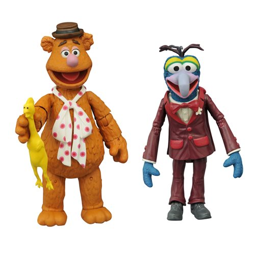 Muppets Best Of Series 1 Gonzo and Fozzie Action Figure 2-Pack