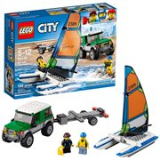 LEGO City Great Vehicles 60149 4x4 with Catamaran