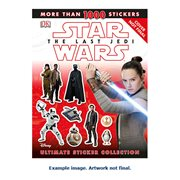 Star Wars: The Last Jedi Ultimate Sticker Collection Paperback Book