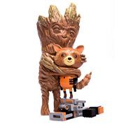 Guardians of the Galaxy Rocket and Groot Treehugger Vinyl Figure