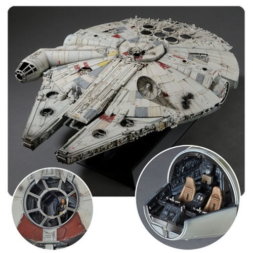 Star Wars: A New Hope Millennium Falcon 1:72 Scale Perfect Grade Model Kit