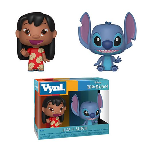 Lilo and Stitch Vynl. Figure 2-Pack