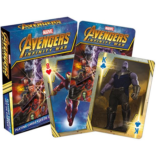 Avengers: Infinity War Playing Cards