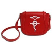 Fullmetal Alchemist Edward Saddle Bag Purse