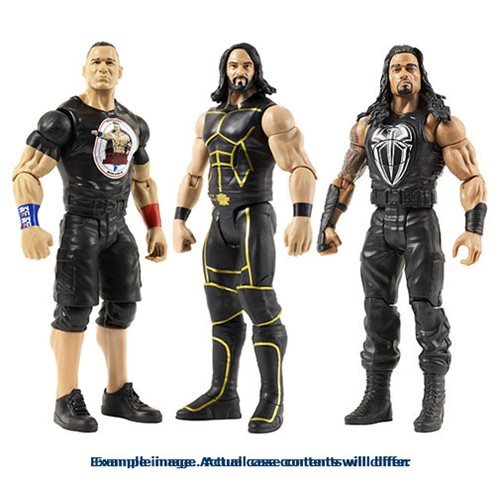 WWE Tough Talkers 6-Inch Action Figure Case