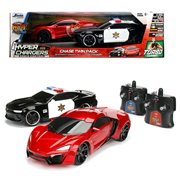 Hyperchargers Heat Chase 1:16 Scale RC Vehicle 2-Pack