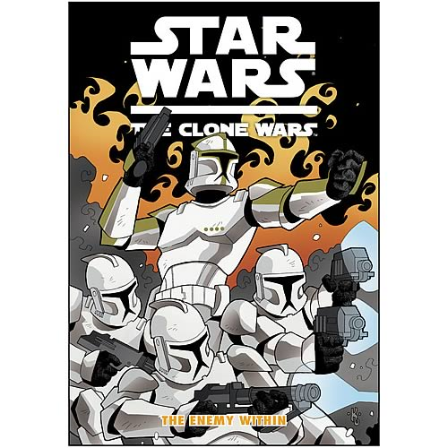 Star Wars: The Clone Wars The Enemy Within Graphic Novel