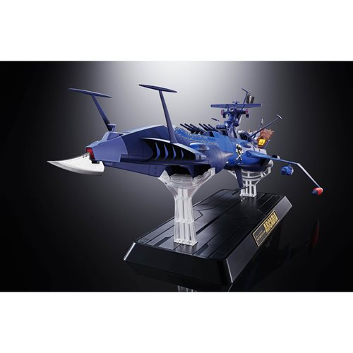 Space Pirate Captain Harlock GX-93 Space Pirate Battleship Arcadia Soul of Chogokin Vehicle