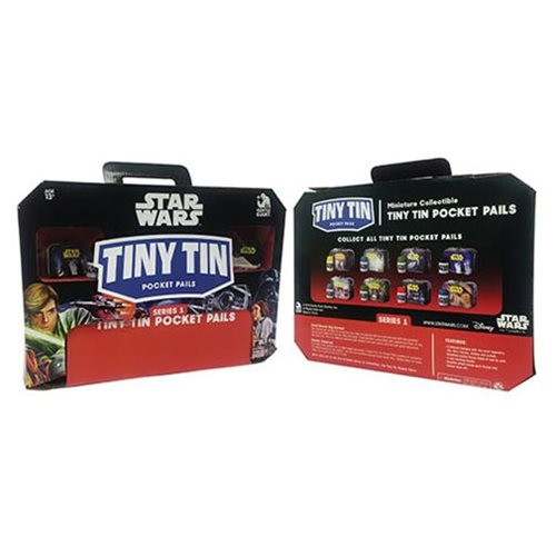 Star Wars Tiny Tins Series 1 Random 6-Pack