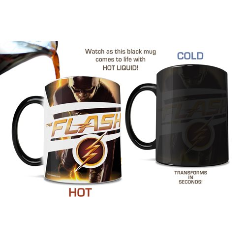 Flash Fastest Man Alive Morphing Mug