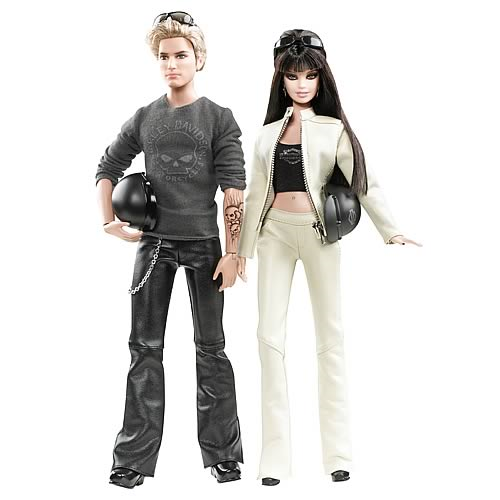Barbie Harley-Davidson Barbie and Ken Dolls Gift Set