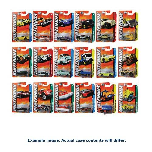 Matchbox Best Of 1:64 Scale Die-Cast Vehicle Mix 1 Case
